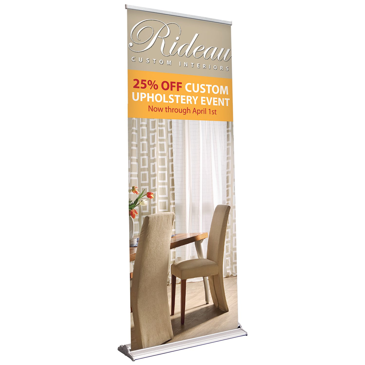 48in Retractable Banner Stand