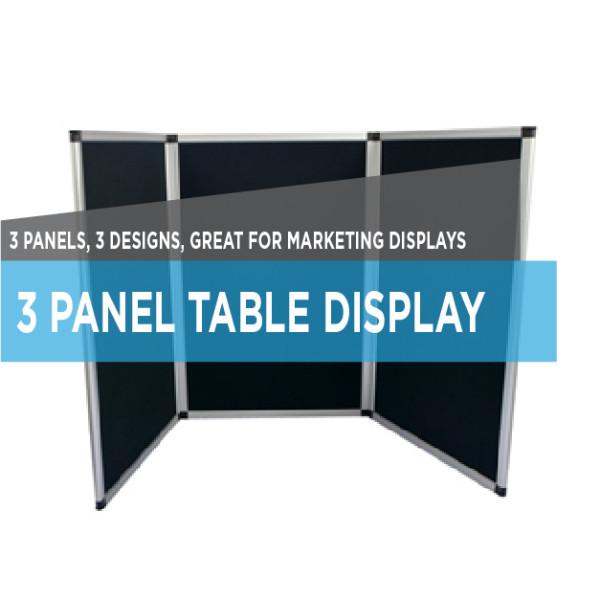 printing 3 panel display