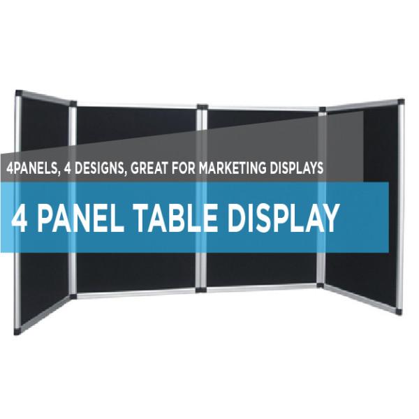 printing 4 panel display