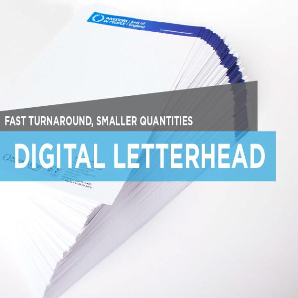 printing letterhead digital