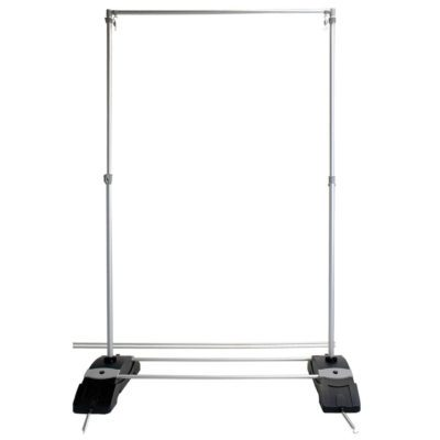8' x 9' Outdoor Banner Wall Stand