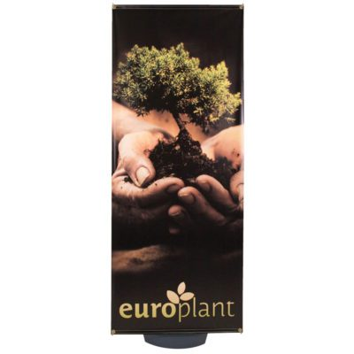 Zeppy Outdoor Banner Stand