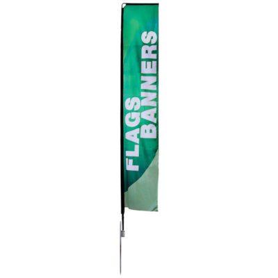 Large Mamba Flag With Spike Base