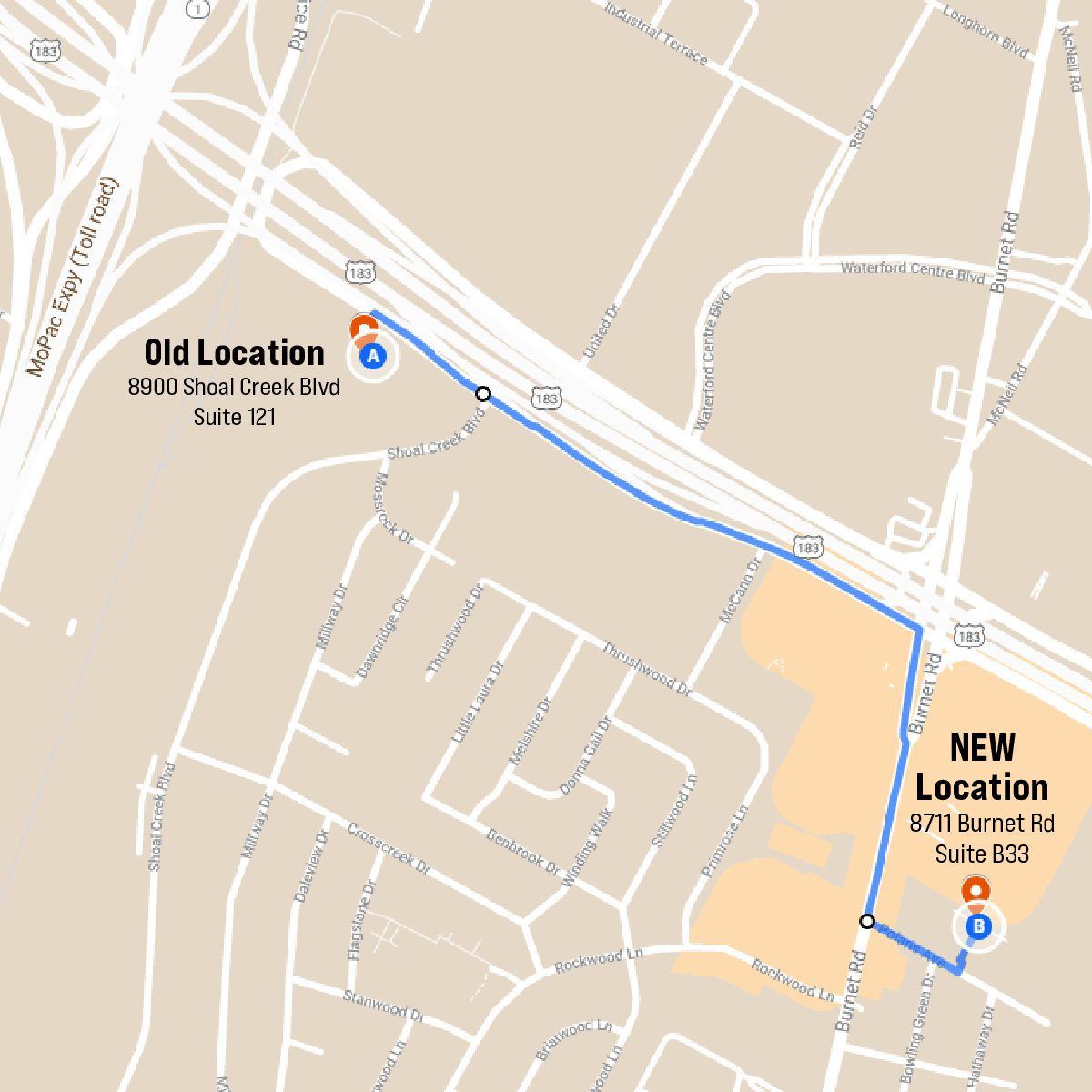 New Location_Route Map