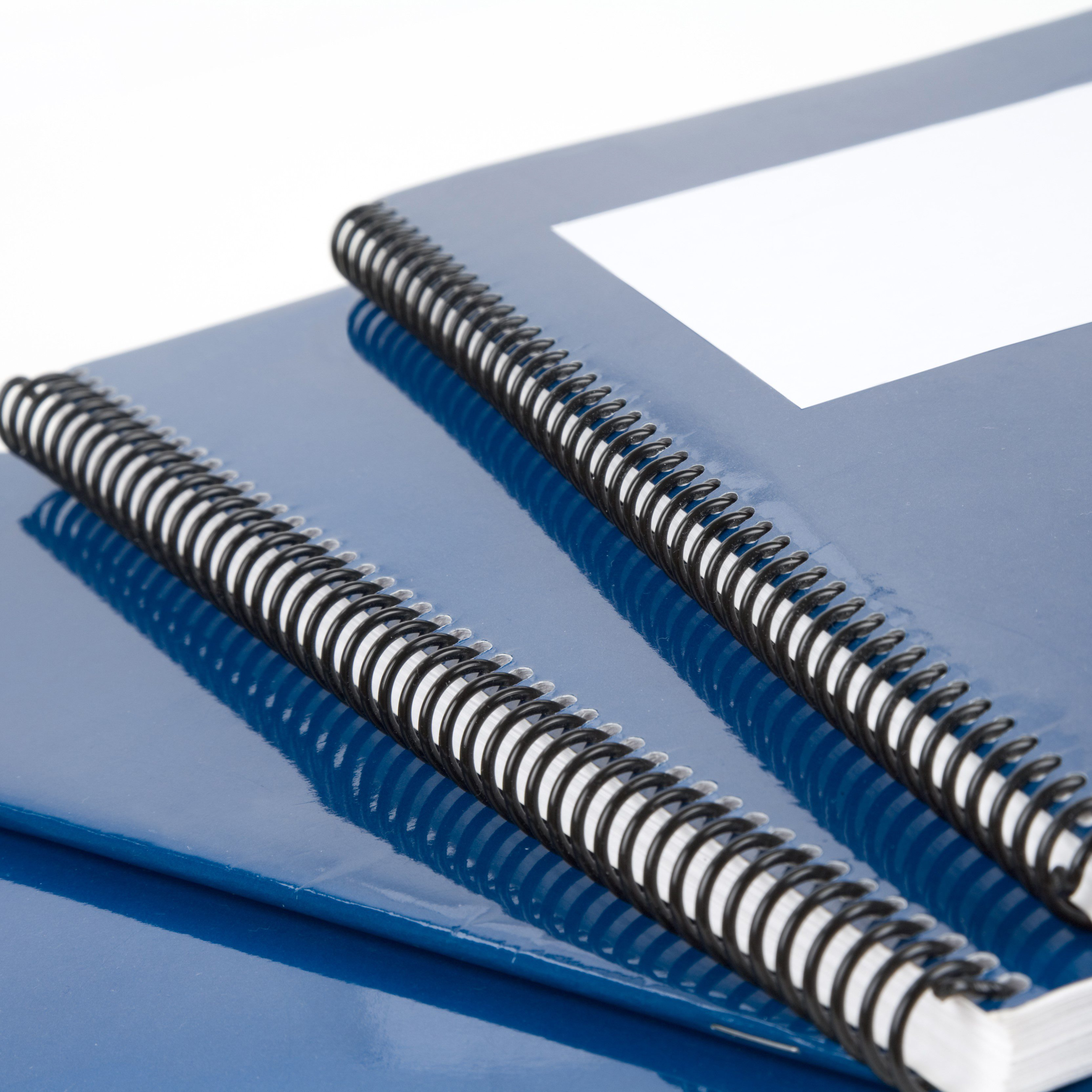 Blue,School,Textbook,,Notebook,Or,Manual,With,White,Background
